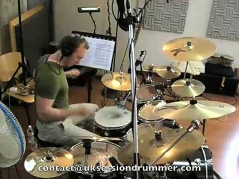 Working as a Session drummer