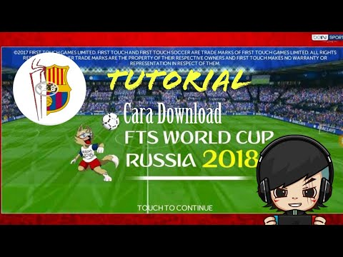 Cara Download FTS 19 Mod Fifa World Cup Russia 2018 | MOD BY F19 TEAM | Size 300 MB