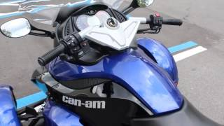 4. SOLD! 2010 Can Am RS SE5 Spyder 3 Wheeler Reverse Trike Review and Start up