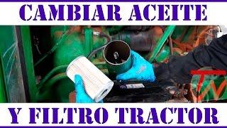 8. Cambiar aceite y filtro tractor 🚜🛠