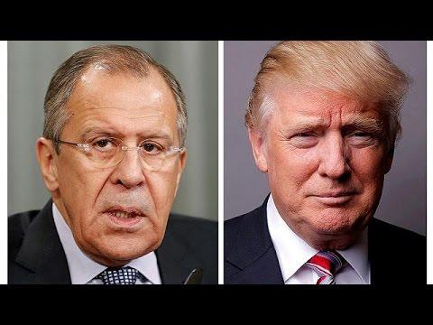 Σάλος με τις «απόρρητες» πληροφορίες του Τραμπ στον Λαβρόφ
