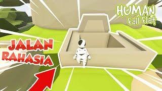 DUO LETOY MENEMUKAN JALAN PINTAS RAHASIA MENUJU TAMAT!! - HUMAN FALL FLAT #8