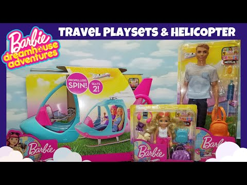 Barbie Dreamhouse Adventures: Travel | Helicopter | Giveaway Winners 🎉