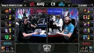 LMHT CKTG 2015 (Ngày 8): Highlight ahq e-Sports Club vs Cloud9