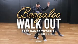 Kid Boogie – How To Do The Original Boogaloo Walk Out