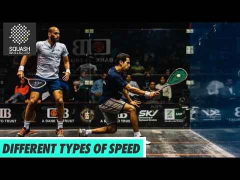 Squash Tips: Different Types of Speed with Hadrian Stiff