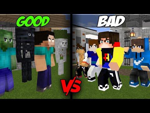 GOOD GUYS VS BAD GUYS - NEW MINECRAFT ANIMATION