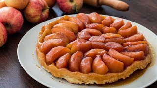 Tarte Tatin - 4k video by Home Cooking Adventure
