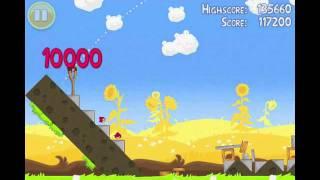 Angry Birds Seasons Summer Pignic Level 26 Walkthrough 3 Star