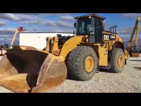 CATERPILLAR WHEEL LOADERS/INTEGRATED TOOLCARRIERS 980K equipment video 9ZhJ-r8tRhE