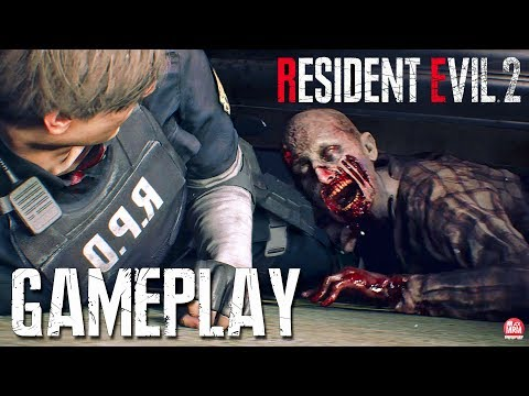RESIDENT EVIL 2 REMAKE - GAMEPLAY DEMO || ESTÁ INCRÍVEL!!!
