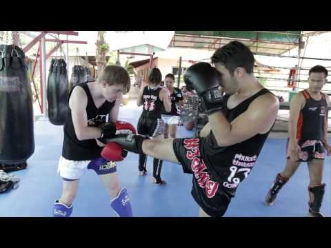 Muay Thai Kickboxing Student Trip to Thailand 2013 Elite Training Center
