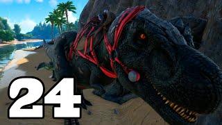 EL DINOSAURIO MÁS TEMIDO!! ARK: Survival Evolved #24