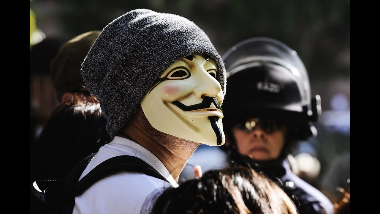 Anonymous – Exclusion of the Olympic Games 2016