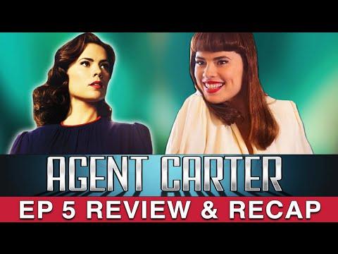 Agent Carter Season 2 - Ep 5 Review - The Atomic Job