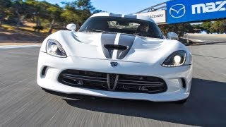 2013 SRT Viper Hot Lap! - 2013 Best Driver's Car Contender