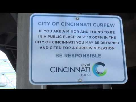 Zero Tolerance Police States Cincinnati Curfew Is A Crime For Minors