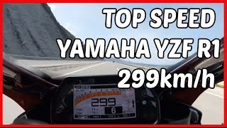 9. Top Speed Yamaha YZF R1 2016 ,2014 and 2008 Compilation