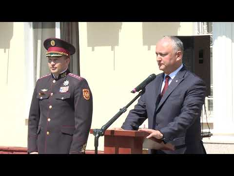 Igor Dodon appointed a new director of the State Protection and Guard Service