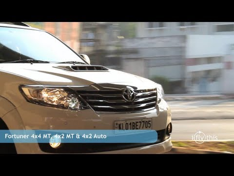 2012 Toyota Fortuner 4×2 Automatic review by iflythis team