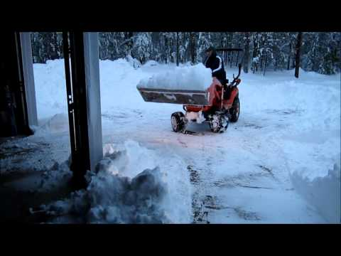 Kubota vs Snow