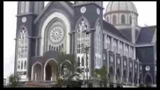 Binh Duong Vietnam  City new picture : Chuông Nhà Thờ Chánh Tòa Phú Cường, Bình Dương, Việt Nam. Phu Cuong Cathedral in Viet Nam