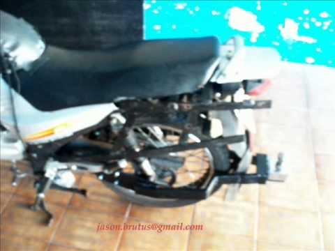 Faça você mesmo uma carretinha com engate rapido - sidcar para moto