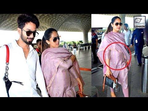 Shahid Kapoor Wife Mira Rajput FLAUNTS Her Baby Bu