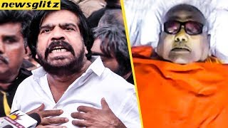 Video அஞ்சலிக்கு தடை, கொந்தளித்த டி ஆர் : T Rajendar Furious Over Karunanidhi's Burial Place Uncertainty MP3, 3GP, MP4, WEBM, AVI, FLV Agustus 2018