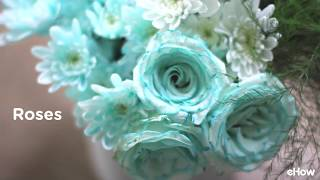Need a specific shade or color for a floral arrangement, a themed party or just love having vibrant colored flower? Dye them using this method! Full details here: http://www.ehow.com/how_2117338_dye-flowers.html