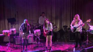 """HAIM at the Palace Theater 3 of 6 """"Throwing It All Away"""""""