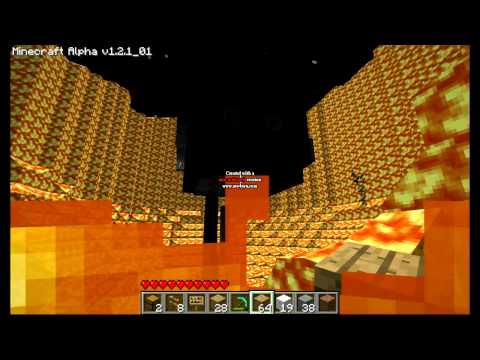 Minecraft Supernova Lava Fail