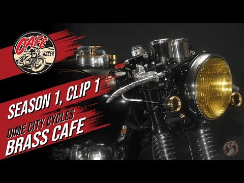 Velocity's Cafe Racer TV Season 1, Clip 1 of Dime City Cycles and The Brass Cafe