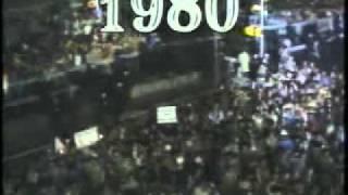 New Years Ball Drop 1979 - 1980