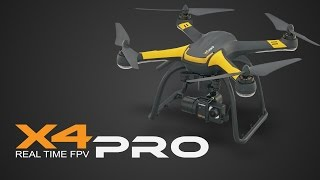 X4 Pro by Hubsan On-Board Camera Footage