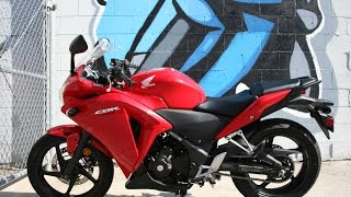9. 2013 Honda CBR250... Delkevic Exhaust, Very Clean ... Sounds great!!