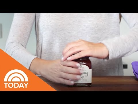 How To Open A Tight Jar Lid | TODAY