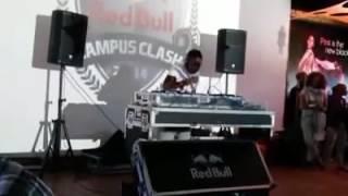 DJ ISAH AT THE REDBULL CAMPUS CLASH