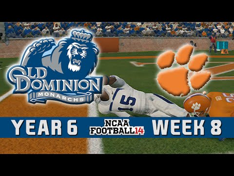 NCAA Football 14 Dynasty - Old Dominion: Episode 82