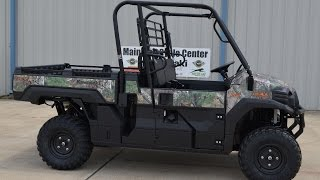 3. SALE $11,299:  2016 Kawasaki Mule Pro FX EPS Camo Overview and Review