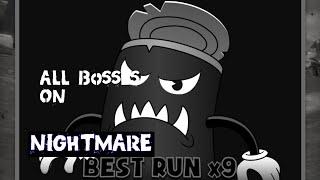 Bendy In Nightmare Run: Nightmare Mode on all Bosses