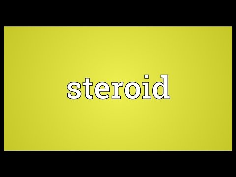 Steroid Meaning