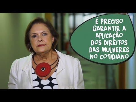 Solange Jurema: garantia efetiva dos direitos das mulheres