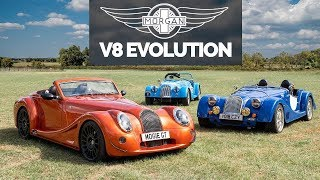 Morgan And The Mighty V8: Brutal Sophistication - Carfection by Carfection