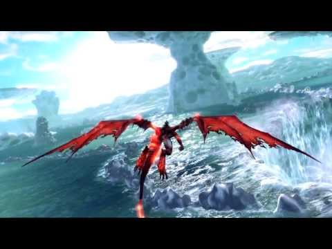 crimson dragon xbox one announce trailer