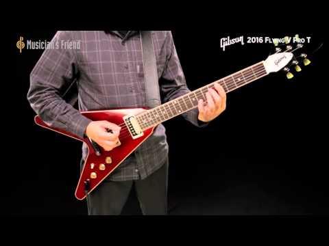 Gibson Flying V Pro 2016 T Wine Red