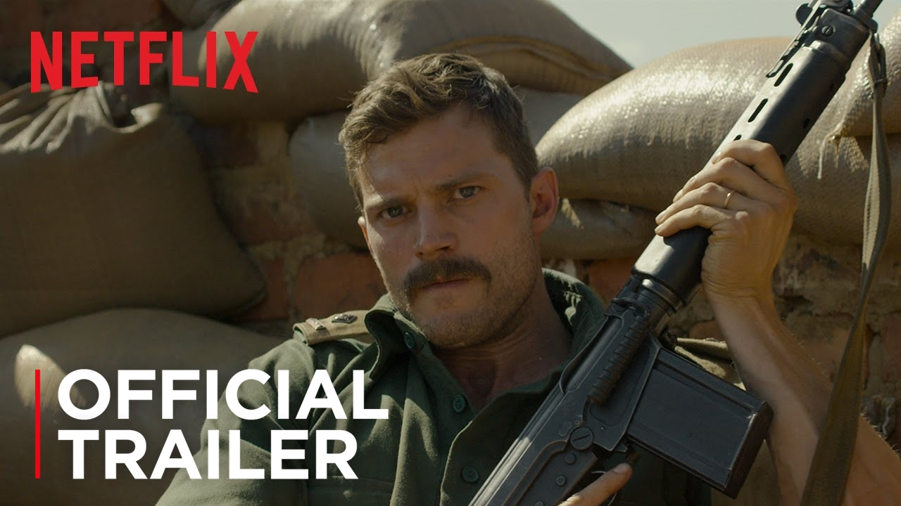 Jamie Dornan leads fight for survival in the Heroic Battle of 'The Siege of Jadotville' [Trailer] with Mark Strong
