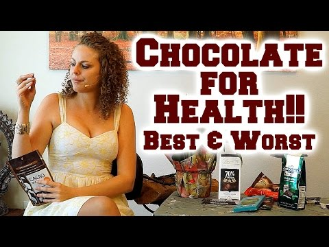 Healthy vs. Unhealthy Chocolate? What is the Best Chocolate? Nutrition Information