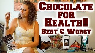 Healthy vs. Unhealthy Chocolate? What is the Best Chocolate? Nutrition Information - YouTube