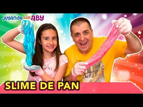 SLIME COMESTIBLE DE PAN. Bread Color Challenge